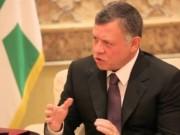 العاهل الأردني: السبيل الوحيد لإنهاء الصراع مبني على حل الدولتين