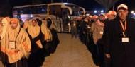 مغادرة أول أفواج معتمري غزة من معبر رفح