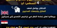 عدوان غزة 2014.. تسلسل أحداث اليوم السابع والعشرين