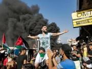 استمرار المظاهرات الغاضبة في المخيمات الفلسطينية في لبنان