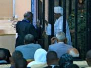 بالفيديو   لحظة وصول البشير لمقر محاكمته في قضية «الثراء الحرام»