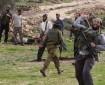 بالفيديو|| إصابة مربي أغنام بكسور جراء اعتداء مستوطنين في المغير