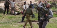 """مستوطنون يرشقون مركبات المواطنين على طريق """"نابلس قلقيلية"""""""
