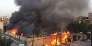 العراق: تطويق حريق مخزن الأسلحة في محافظة صلاح الدين