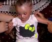 الطفلة الشمعية غفران نجم مهددة بفقدان بصرها
