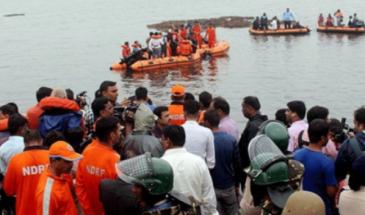 الهند: مصرع 12 شخصا وفقدان 35 جراء انقلاب قارب