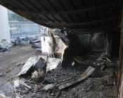 حريق مروع في نادي نصر حسين داي الجزائري