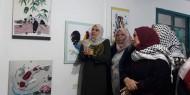 """""""إصلاحي فتح"""" يفتتح المعرض الفني """"الأورجامي"""" في شمال غزة"""