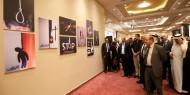 """افتتاح المعرض الفني """"الحياة حق"""" في رام الله"""