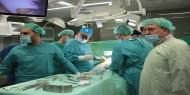 """وفد طبي مصري يختتم زيارته لغزة بعد اجراءه عشرات العمليات الجراحية.. """"صور"""""""