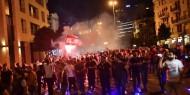 الشرطة اللبنانية تطلق الرصاص المطاطي صوب المتظاهرين في بيروت