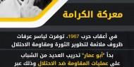 """ياسر عرفات """"أبو عمار"""".. ومعركة الكرامة"""