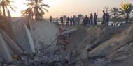 طائرات الاحتلال تقصف منزلا يعود لعائلة زعرب غرب خانيونس