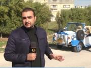 المواطن محمود بركة يصنع سيارة على الطراز الكلاسيكي