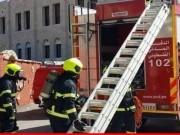 الدفاع المدني يتمكن من السيطرة على حريق في اليامون غرب جنين