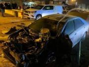 الطيرة: انفجار سيارة ونجاةُ شابين