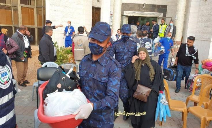 صور|| إخلاء كافة المحجورين صحيا بمركز مسقط جنوب القطاع