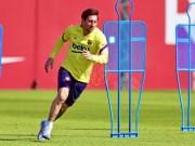 إصابة ميسي تصدم برشلونة