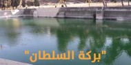 """""""بركة السلطان"""".. معلم أثري تحت سيف التهويد في الخليل"""