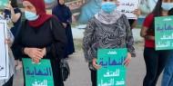 تظاهرة ضد جرائم قتل النساء في الطيبة