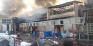 """إيران: حريق """"غامض"""" يضرب منطقة صناعية قرب طهران"""