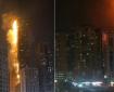 الإمارات: حريق ضخم في سوق شعبي بعجمان