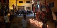 بالصور والفيديو|| تيار الإصلاح ينظم وقفة في مخيم نهر البارد تضامنا مع بيروت