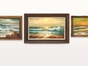 شاهد|| فنان بريطاني يتبرع بثلاثة أعمال فنية لدعم مستشفى في بيت لحم