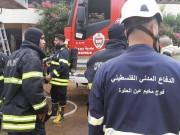 فرق الإنقاذ الفلسطينية تواجه كارثة المرفأ من الخطوط الأمامية