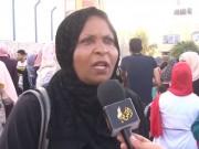 مجلس المرأة في حركة فتح ينظم وقفة تضامنية مع الشعب اللبناني بالنصيرات