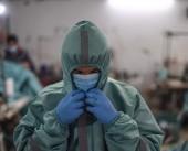 تجربة الإصابة الأولى بكورونا من الكوادر الطبية في غزة