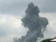 شاهد  انفجار في عين قانا جنوبي لبنان