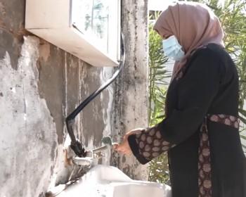 خاص بالصور والفيديو|| صرخة ياسمين مشعل.. أنقذوني قبل أن ينهار المنزل!