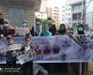 بالصور|| مجلس المرأة يشارك في وقفة تضامنية بغزة مع آسرانا البواسل في سجون الاحتلال