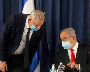 نتنياهو وغانتس مهددان بالاعتقال في جرائم حرب