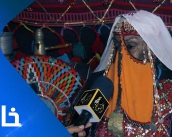 خاص بالفيديو|| أم خالد السواركة.. مسنة فلسطينية تغزل الصوف بأدوات بدائية قديمة