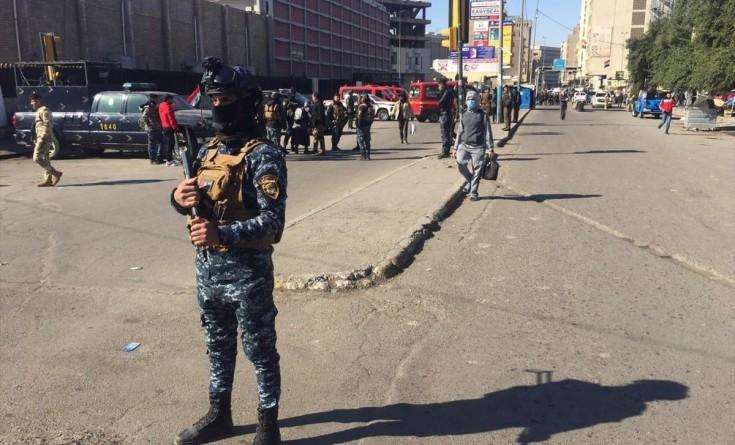 محدث بالفيديو|| تفجيران انتحاريان وسط العاصمة العراقية بغداد