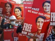 خاص بالصور والفيديو   ماذا يحدث في ميانمار.. اختفاء زعيمة البلاد المعزولة