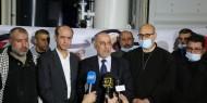 بالصور   المحطة الثانية لإنتاج الأكسجين تصل غزة بدعم من دولة الإمارات العربية المتحدة