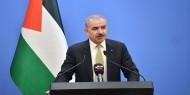 اشتية: الجلسة الأسبوعية مخصصة لإغاثة قطاع غزة وإعادة الإعمار عقب العدوان