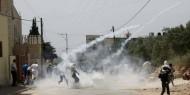 إصابات جراء قمع الاحتلال مسيرة قرية المغير السلمية شرق رام الله