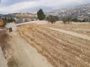 الاحتلال يجرف أراضٍ في محيط جبل صبيح جنوب شرق نابلس