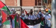 بالصور|| الجالية الفلسطينية في بلجيكا تنظم وقفة دعما وإسنادا للأسرى