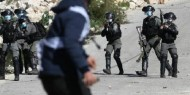 """إصابتان خلال قمع الاحتلال مسيرة في بلدة"""" بدو""""  بالقدس المحتلة"""