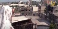 """خاص بالفيديو والصور   مطالبات بفحص سكان منطقة """"السيفا"""" جراء قصف مستودعات زراعية"""