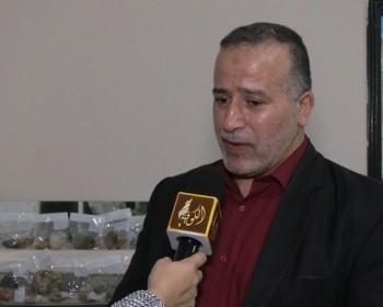 خاص بالفيديو والصور|| صلاح الكحلوت.. مواطن غزي يحول منزله إلى معرض للأحجار الكريمة والصخور النادرة