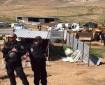الاحتلال يفكك غرفا تابعة لمدرسة المالح في الأغوار الشمالية